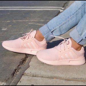 Adidas Girls Pink Running Shoes